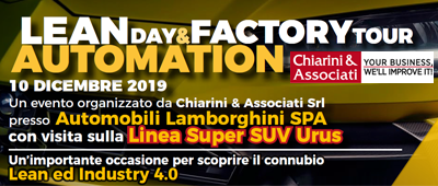 lean day lamborghini automation industry 4.0